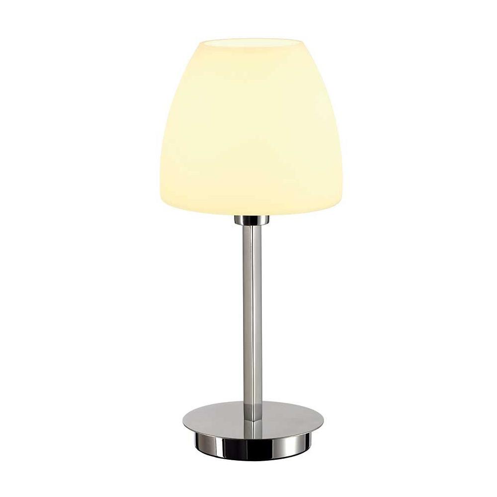 Petite lampe en verre et m tal chrom en vente sur lampe for Petite lampe exterieur