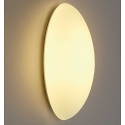 Pafonnier-applique murale ovale verre