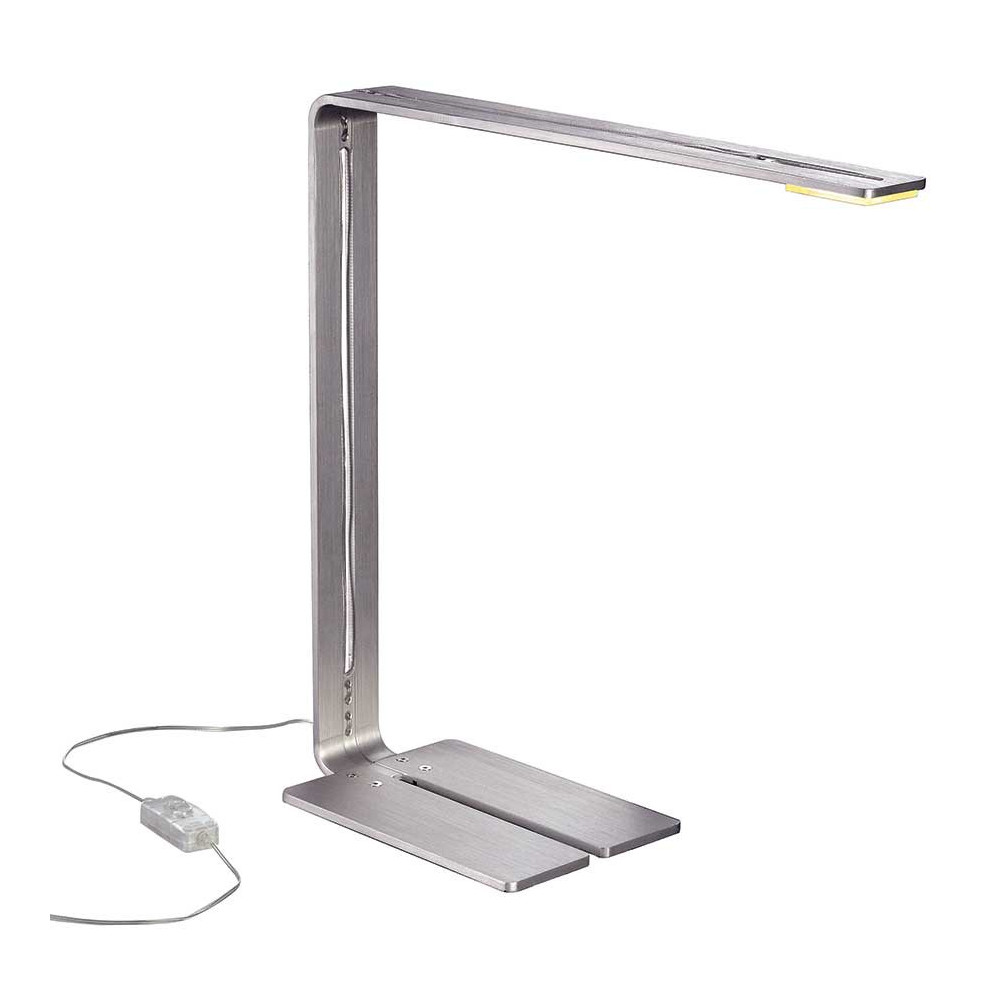 Lampe bureau led design yap white led designer desk lamp for Bureau design