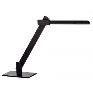 Lampe de bureau noire LED modulable
