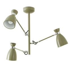 Luminaire suspension articulée