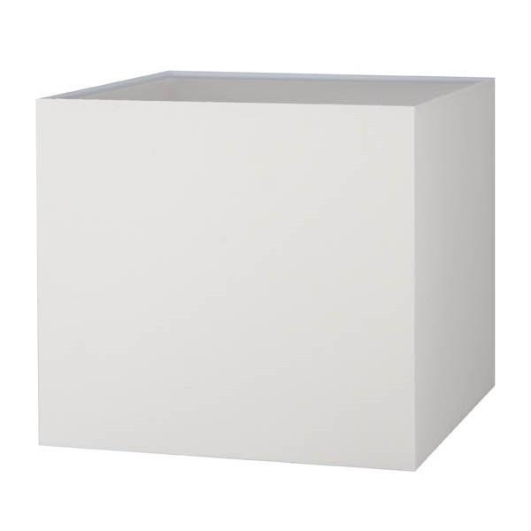 Abat-jour carré blanc crème