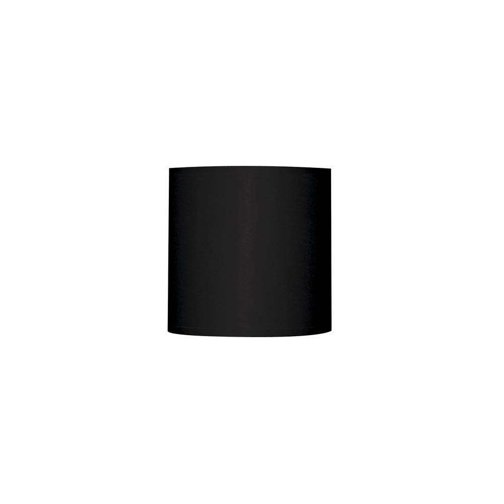 abat jour cylindrique noir plusieurs dimensions. Black Bedroom Furniture Sets. Home Design Ideas