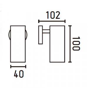 Applique blanche dimensions