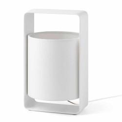 Lampe déco blanche