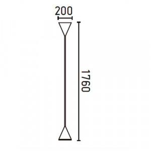 Lampadaire dimensions