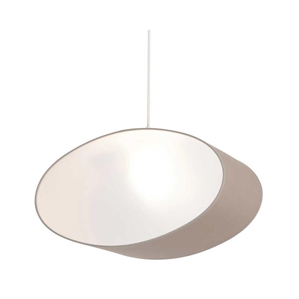 suspension ovale couleur taupe effet tamis e achat sur lampe avenue. Black Bedroom Furniture Sets. Home Design Ideas