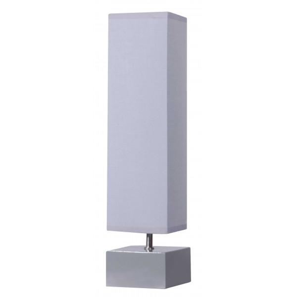 Lampe verticale grise