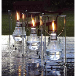 Lampe à huile déco