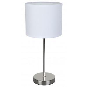 Lampe design métal et blanc