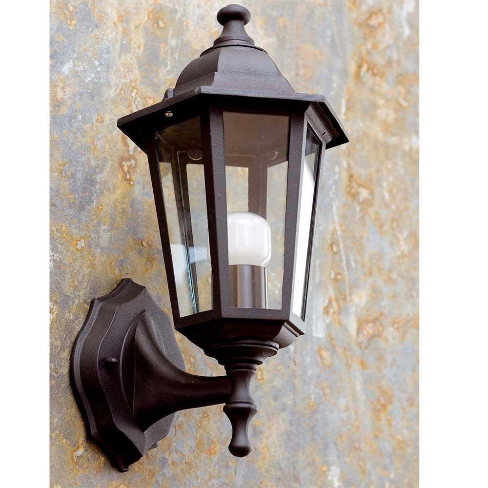 Applique ext rieur classique en alu noir d couvrir sur for Lampe applique exterieur