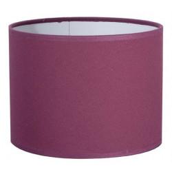 Abat-jour cylindre prune