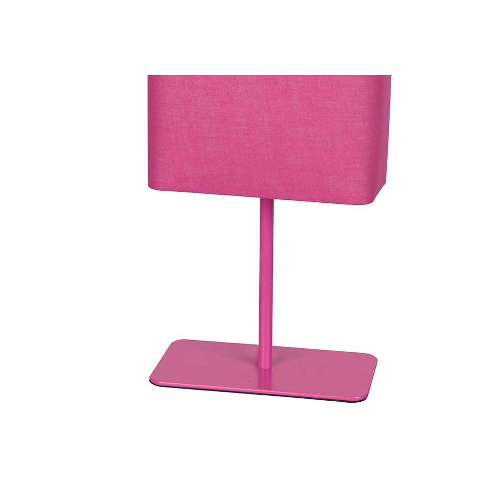 lampe design pas cher rose avec abat jour coton achat sur lampe avenue. Black Bedroom Furniture Sets. Home Design Ideas
