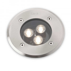 Spot rond LED à encastrer dans le sol