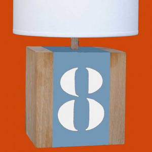 Lampe L34 bleue