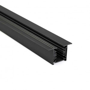 Rail noir 1m pour spot