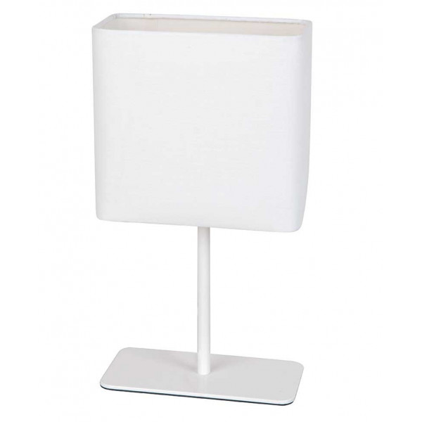 Lampe blanche rectangle