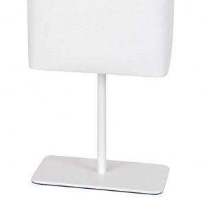 Lampe métal blanc