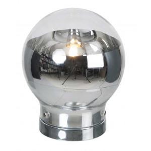 Lampe tactile boule allumée