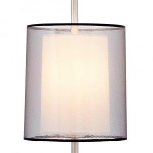 Lampe à poser haute avec double abat-jour