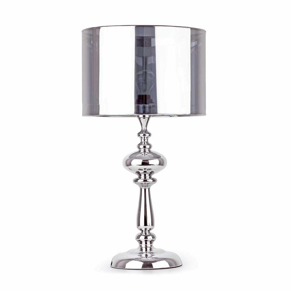Lampe De Table En Mtal Chrom Vente Sur Avenue