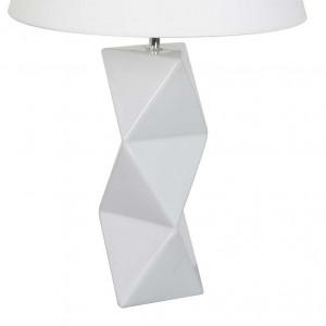 Lampe céramique blanche design