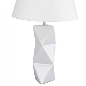 Lampe abat-jour blanc design