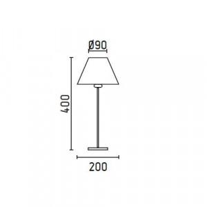 Petite lampe dimensions