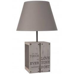 Lampe imitation palette