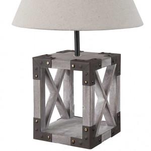 Lampe bois tendance
