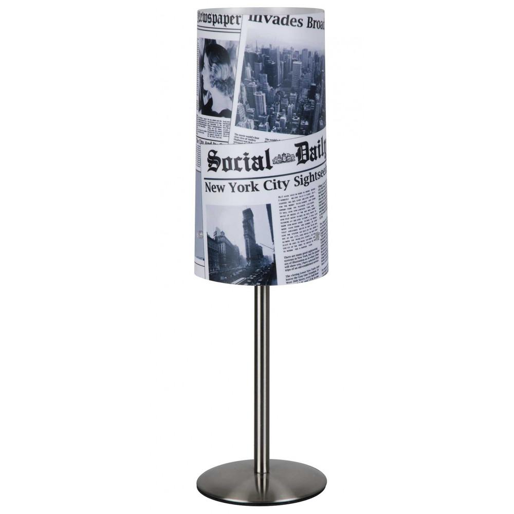 Lampe adolescent style américain One Way - Luminaire déco sur ...