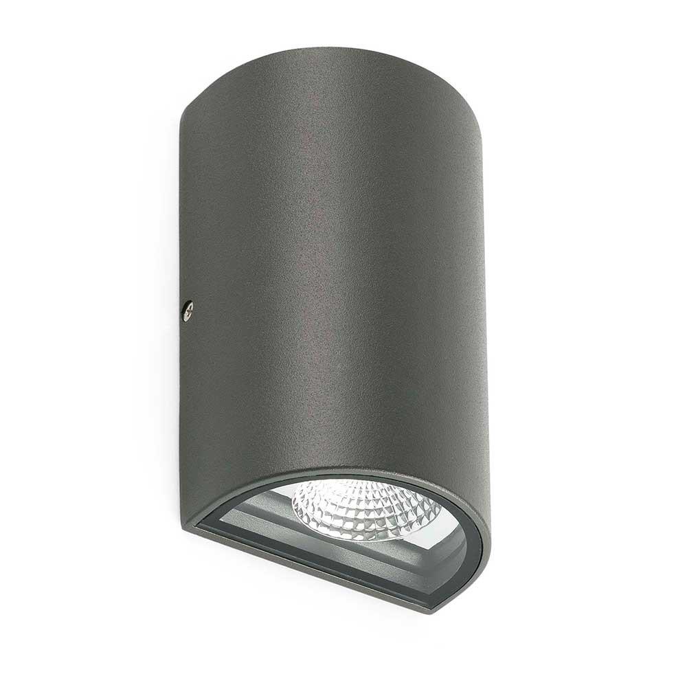 applique led ext rieure gris fonc lampe avenue. Black Bedroom Furniture Sets. Home Design Ideas