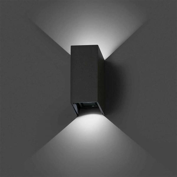 Applique LED extérieure en alu