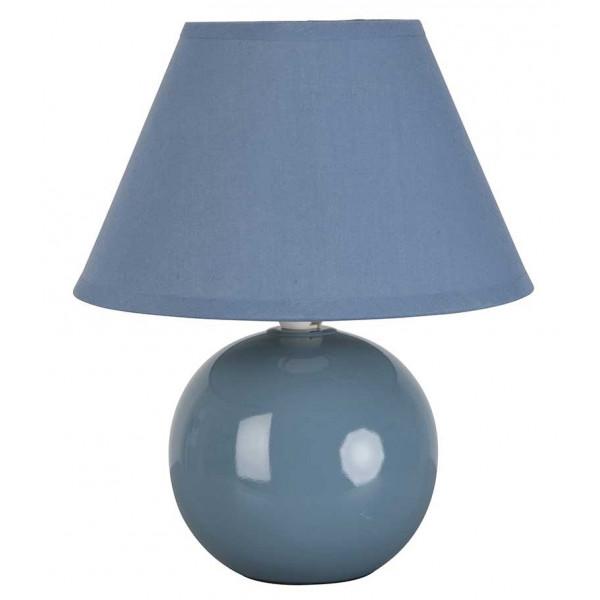 Lampe de chevet bleue pas cher for Lampe chevet pas cher