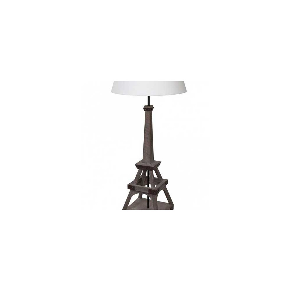 lampe haute en bois tour eiffel acheter sur lampe avenue. Black Bedroom Furniture Sets. Home Design Ideas