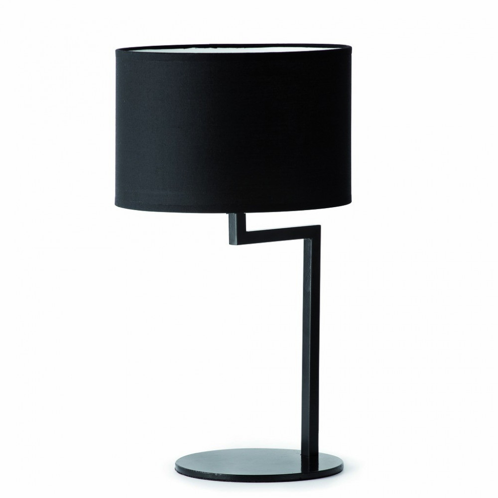 lampe poser noire de faro. Black Bedroom Furniture Sets. Home Design Ideas