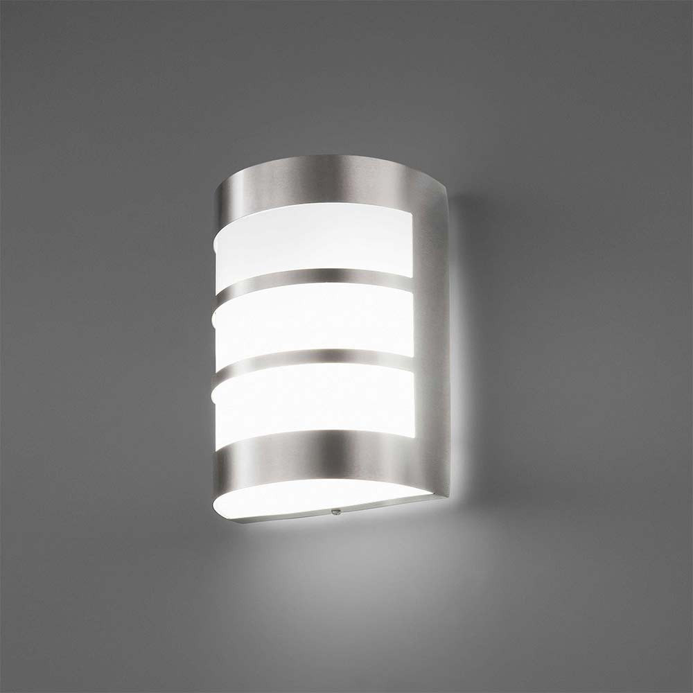 Applique ext rieure en inox lampe avenue for Lustre exterieur design
