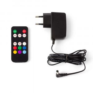 Lampe LED piscine avec télécommande