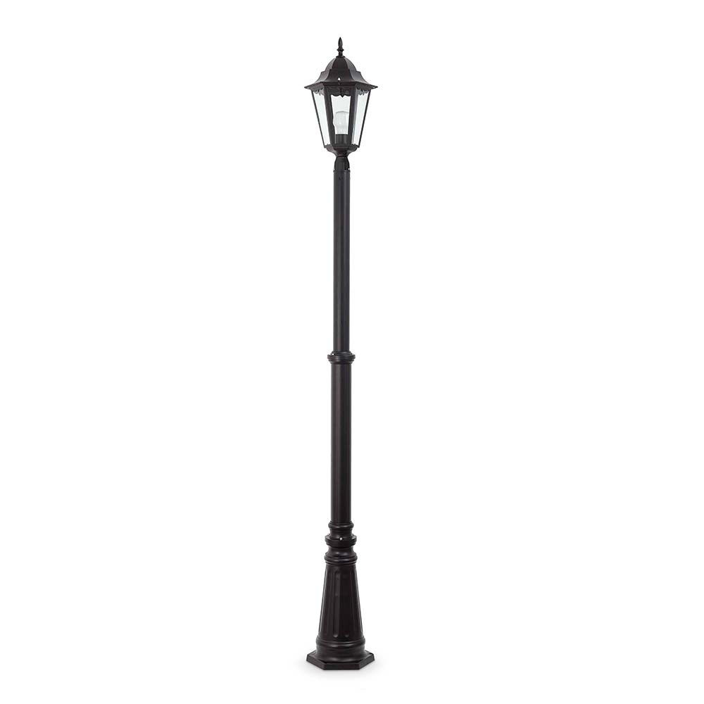 Lampadaire ext rieur paris 1l en alu lampe avenue for Lampadaire interieur