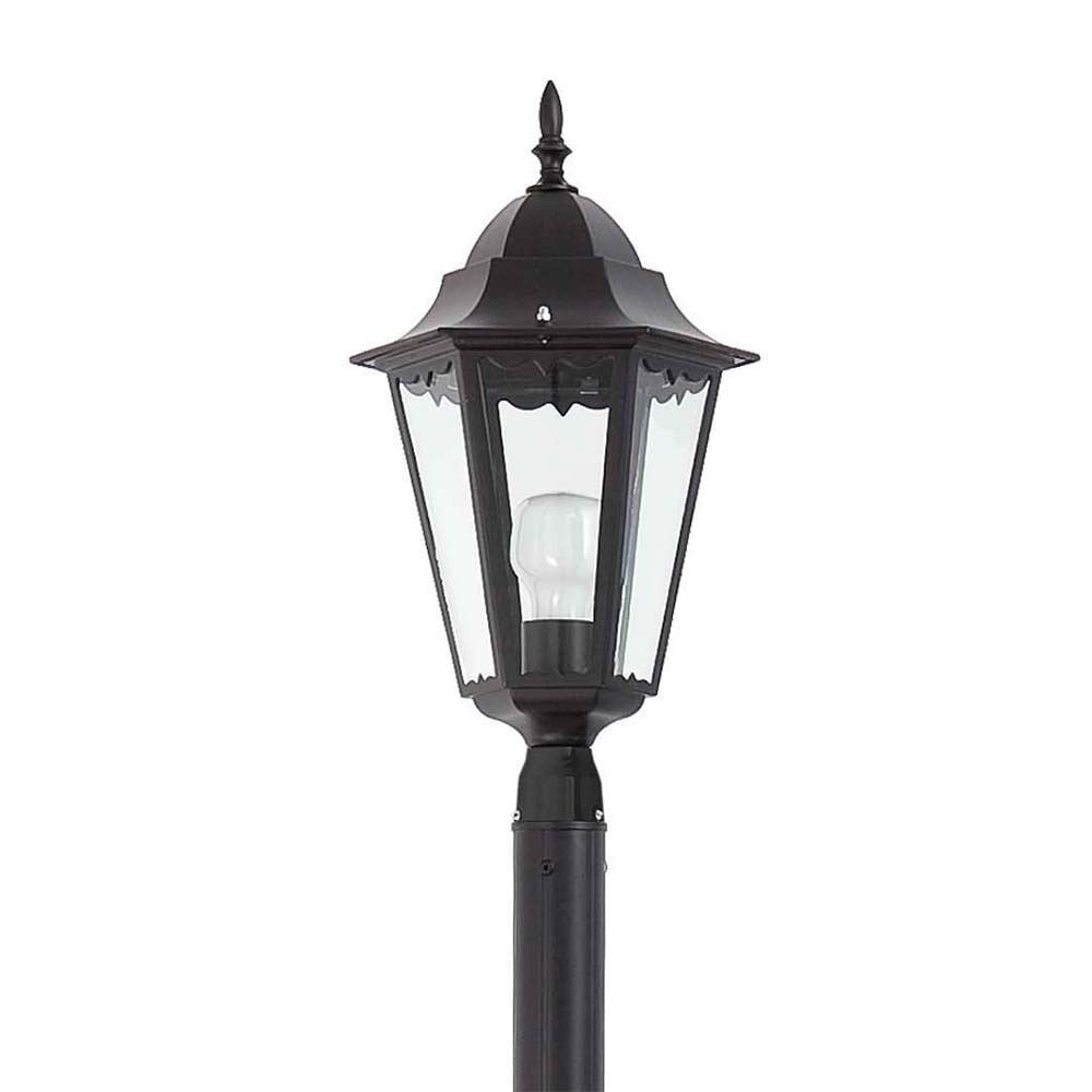 Lampadaire ext rieur paris 1l en alu lampe avenue for Parking exterieur paris