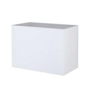 Abat-jour rectangle blanc