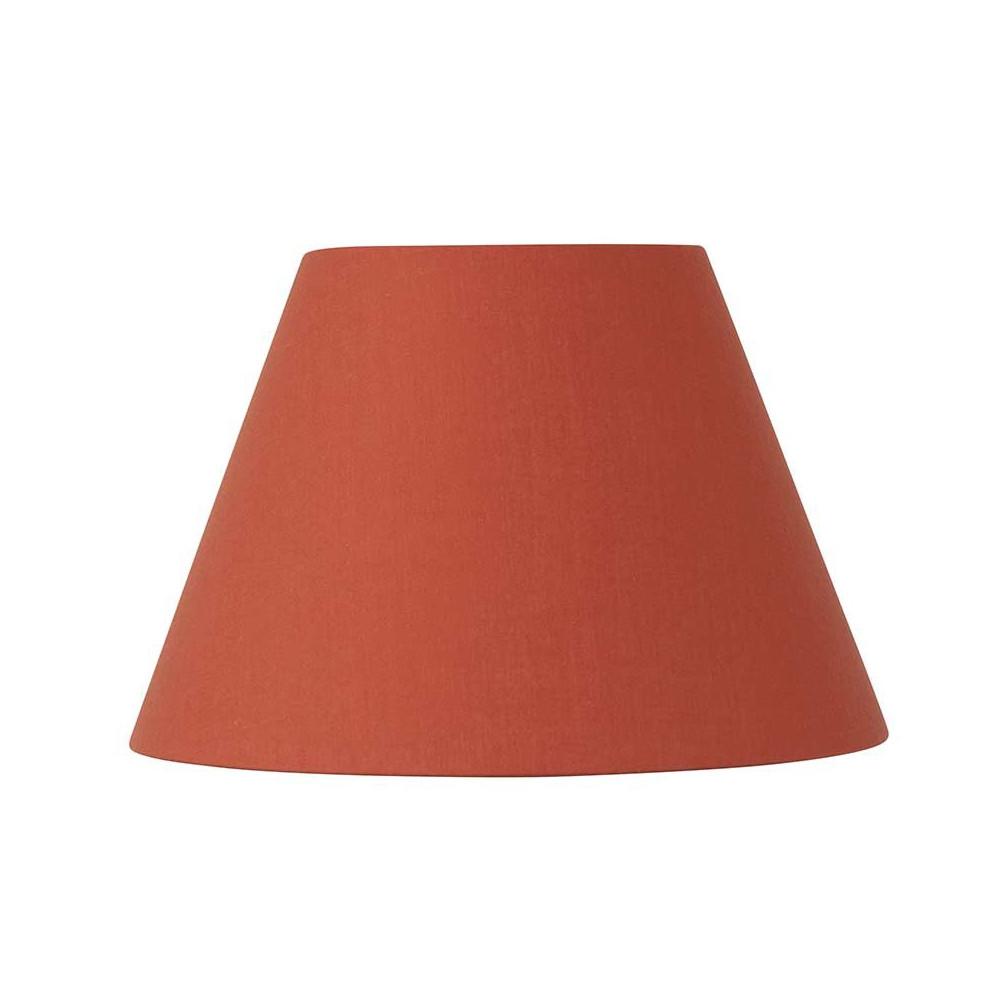 abat jour rond orange plusieurs tailles acheter sur lampe avenue. Black Bedroom Furniture Sets. Home Design Ideas