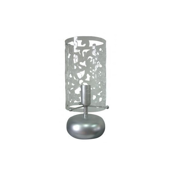 lampe tactile transparente en m tal. Black Bedroom Furniture Sets. Home Design Ideas