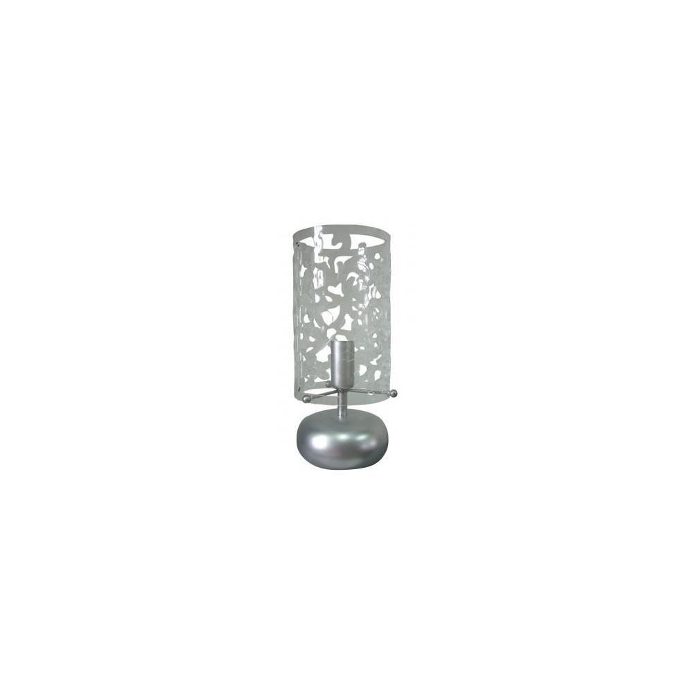 Lampe tactile transparente en m tal - Lampe a poser tactile ...