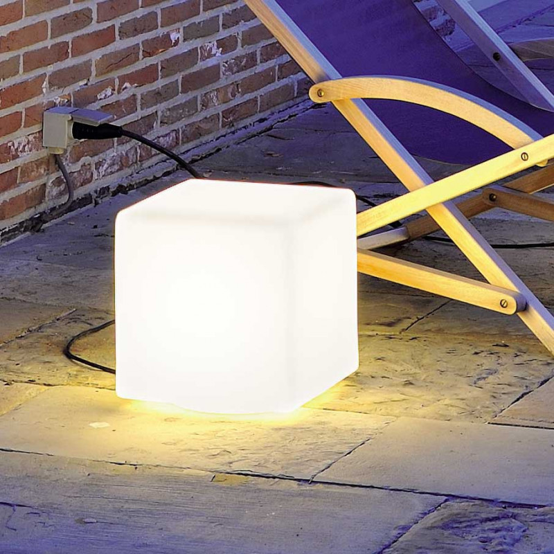 Cube Lumineux Extérieur Table Basse