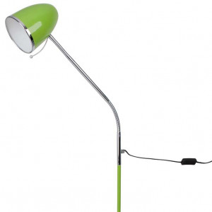 Lampadaire vintage flexible vert