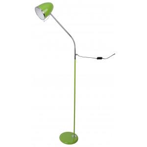 Lampadaire vert flexible
