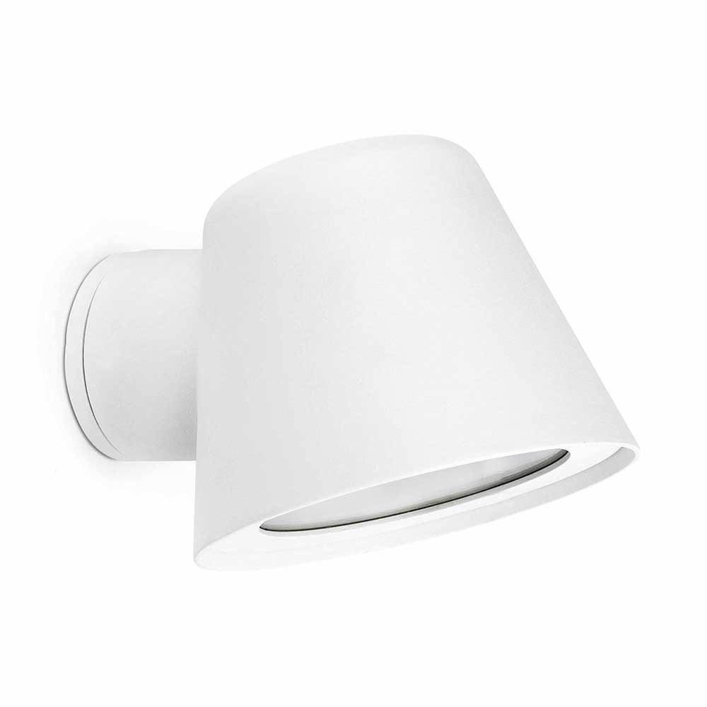 Applique blanche ip44 en alu lampe avenue for Applique murale exterieur blanche
