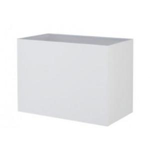 Abat-jour rectangle crème