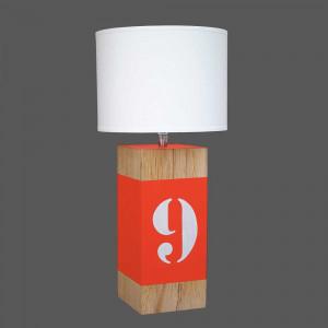 Lampe haute orange